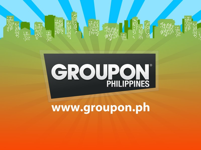 Groupon logo with fabulocity