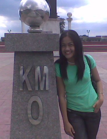 km 0 in Luneta Park, Manila