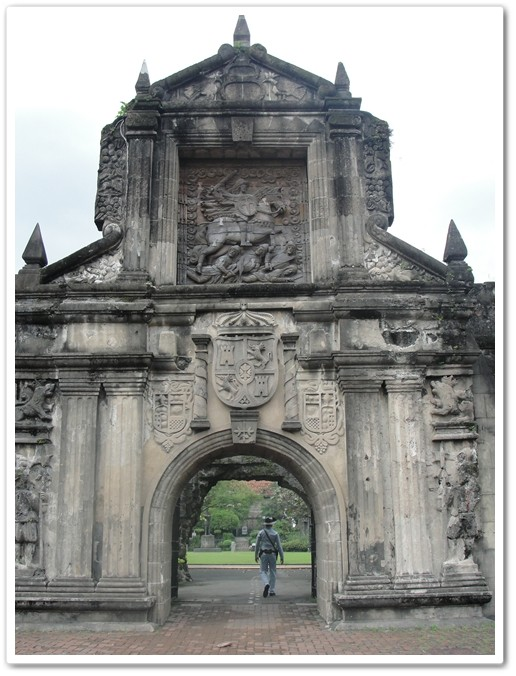 Fort Santiago entrance