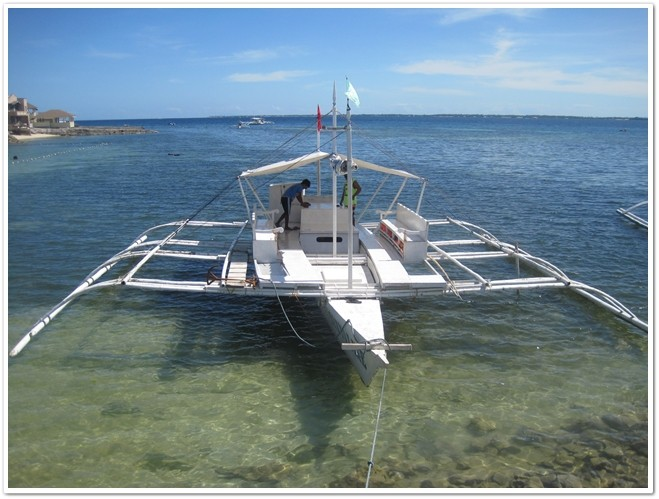 Island Hopping Mactan Boat Rental Rate (Cebu)