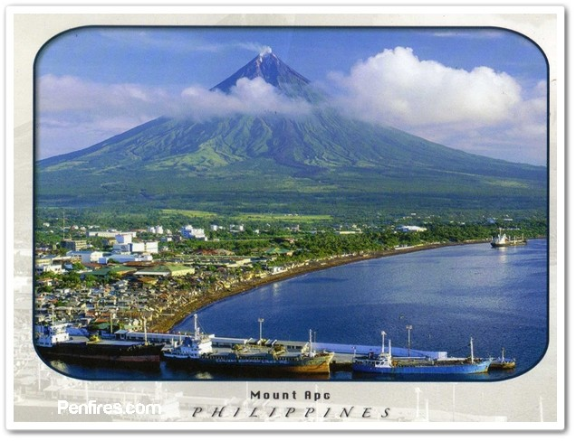 Philippine Postcard Error by Sterling Greetings