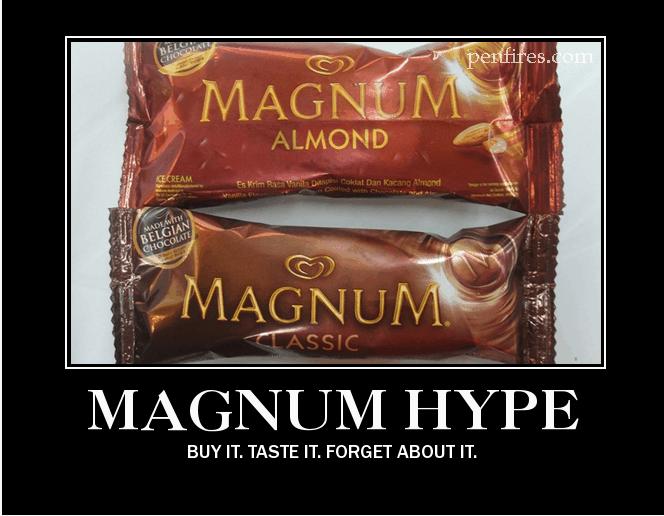 Selecta Magnum Ice Cream Hype