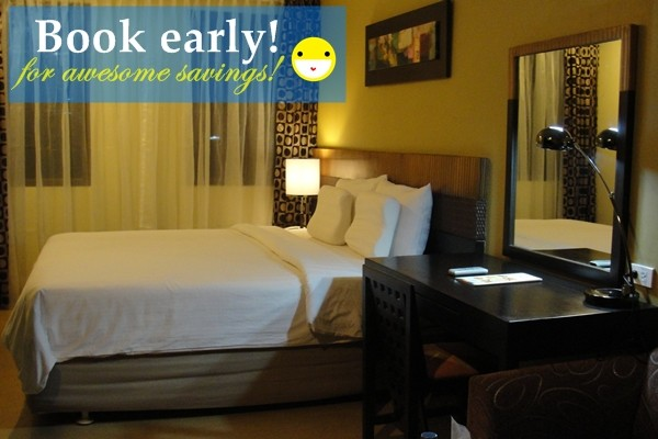 Book your hotel rooms early to get access to special discounts!