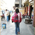 Filipina backpacker traveler
