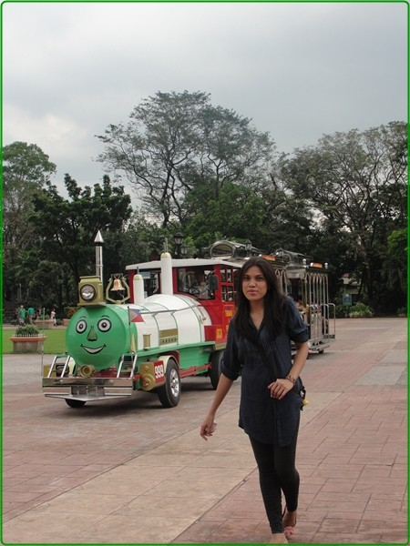 train in luneta