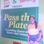 Pass the Plate: A Cooking Demo with Knorr and Yummy Magazine in Cebu