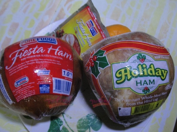 christmas ham cdo whole meat vs purefoods fiesta ham