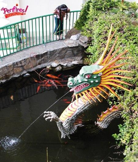 Baguio Tourist Spot - Dragon in Bell Church