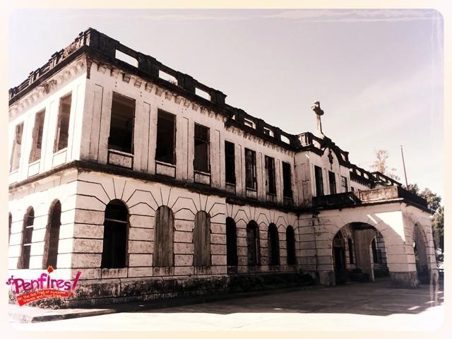 Diplomat Hotel Baguio ruins