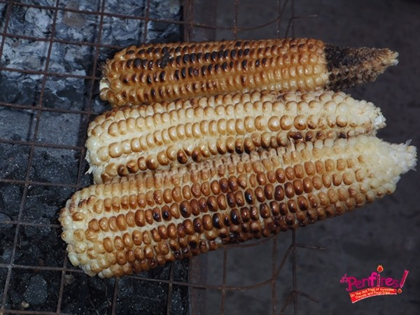 sinugbang mais grilled corn
