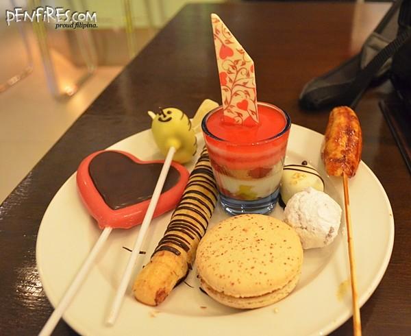 madeleine desserts pastries