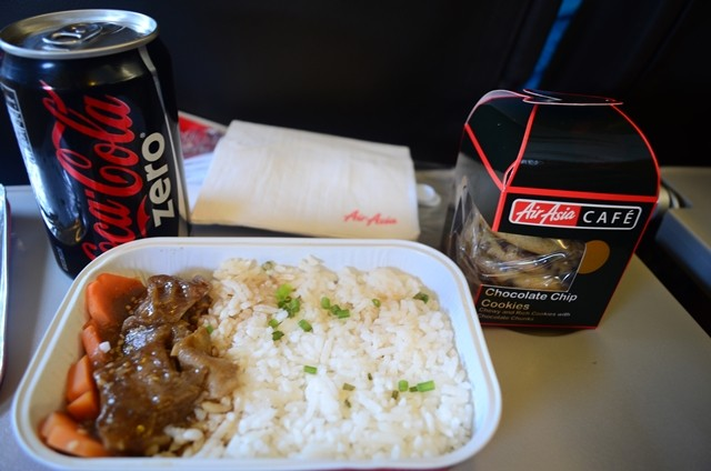 Air Asia Zest Hot Meals On Board