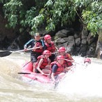 Kiulu River white water rafting