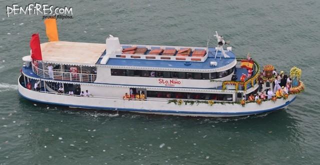 Sinulog 2014 Fluvial Parade Sto Nino Boat