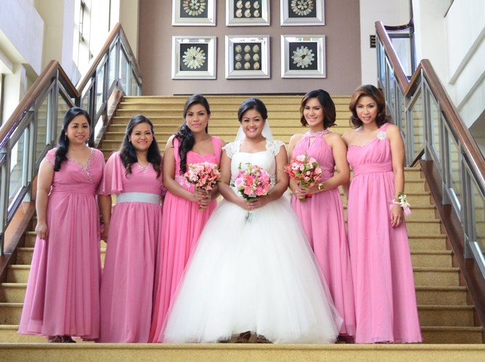 Made In Divisoria My Wedding Gown And Entourage Dresses ONE HAPPY BRIDE