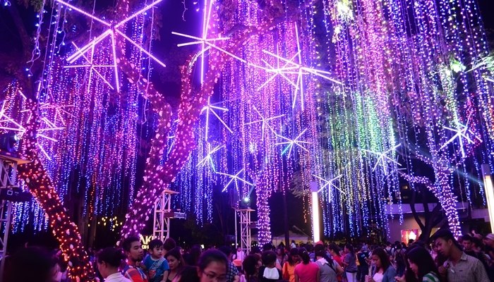 Makati Light Show 2014