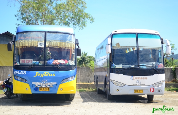 Genesis and Joy Bus to Baler