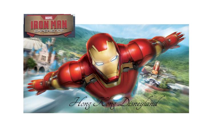 Iron Man Experience HK Disneyland