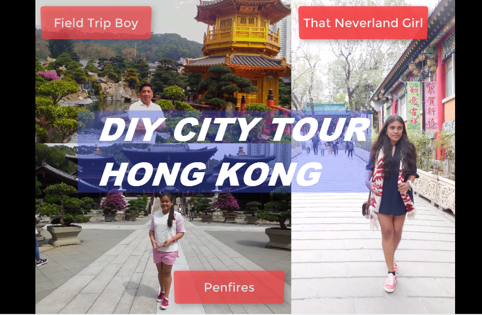 DIY Hong Kong City Tour Free Spots