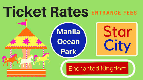 entrance fees and rates star city, enchanted kingdom, manila ocean park